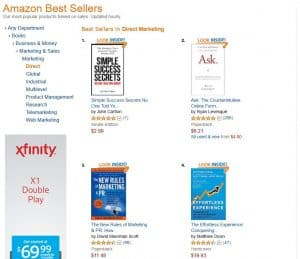Amazon Best Sellers - Marketing - Direct copy 2